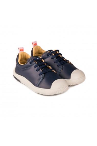 Pantofi Baieti Bibi Prewalker Blue cu Siret Elastic