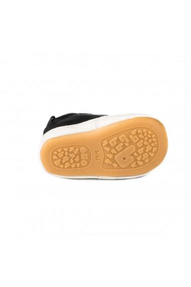 Pantofi Baietei Bibi Afeto Joy Black cu Velcro