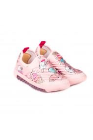 Pantofi Sport Fete Bibi Roller New Camelia/Ice Cream