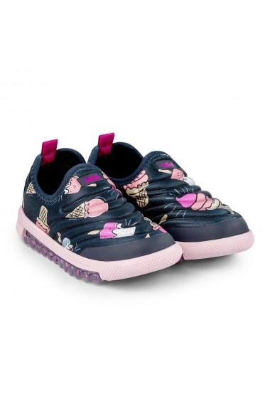 Pantofi Sport Fete Bibi Roller New Naval/Ice Cream