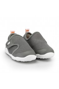 Pantofi Baieti Bibi FisioFlex 4.0 Grafit cu Velcro