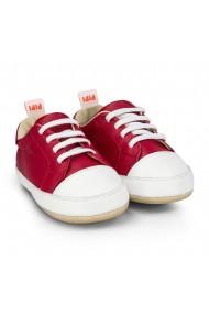 Pantofi Unisex Bibi Afeto Joy Rosii cu Siret Elastic