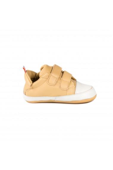 Pantofi Unisex Bibi Afeto Joy Nude cu Velcro