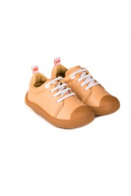 Pantofi Unisex Bibi Prewalker Sampanie cu Siret Elastic