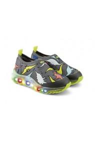 Pantofi Sport LED Bibi Roller Celebration Dino