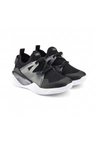 Pantofi Baieti LED Bibi Line Flow Black
