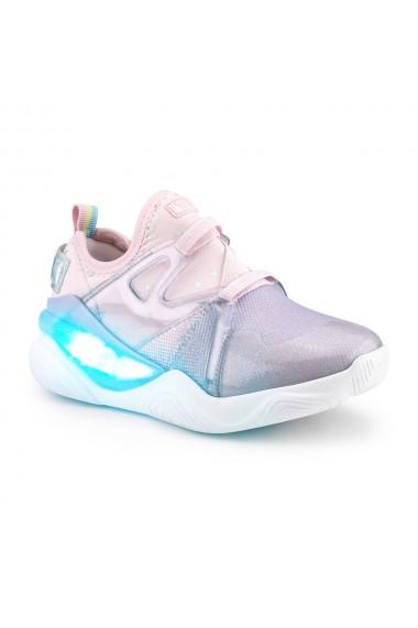 Pantofi Fete LED Bibi Line Flow Lila