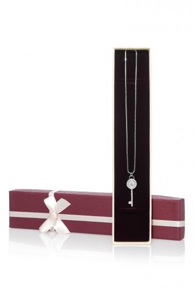Colier Jolenttine JOCO0004DK Diamond Key Argintiu