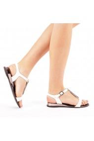 Sandale dama Rebecca albe