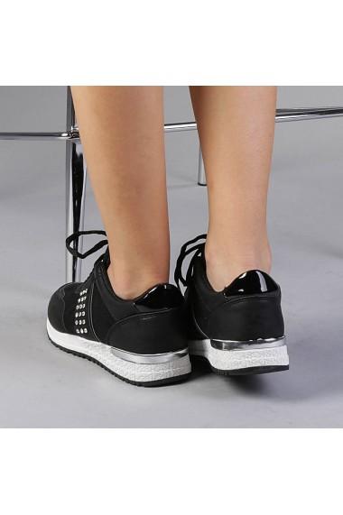 Pantofi sport dama Giselle negri