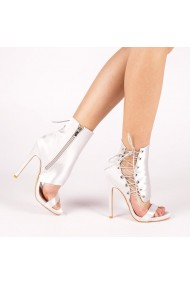 Sandale dama Francisca argintii