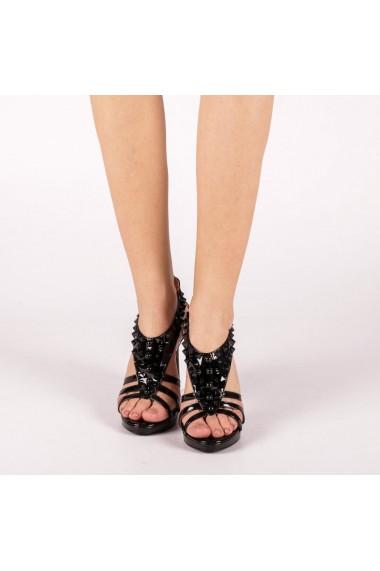 Sandale dama Kassia negre