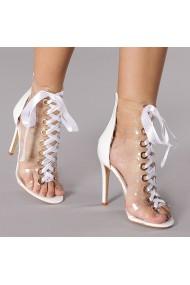 Sandale dama Callia albe