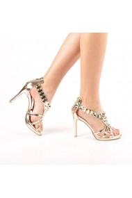 Sandale dama Kassia aurii