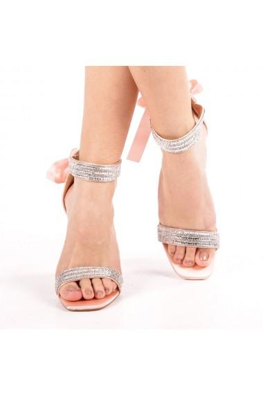 Sandale dama Adela roz
