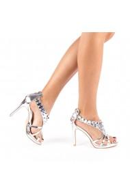 Sandale dama Kassia argintii