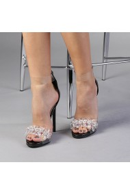 Sandale dama Malina negre