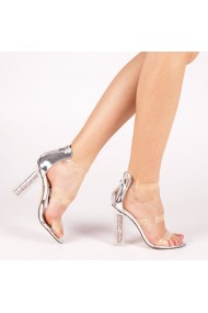 Sandale dama Taisa argintii