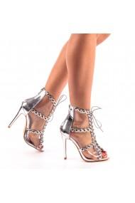 Sandale dama Valerie argintii