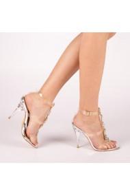 Sandale dama Bella argintii