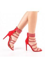 Sandale dama Fabiola rosii