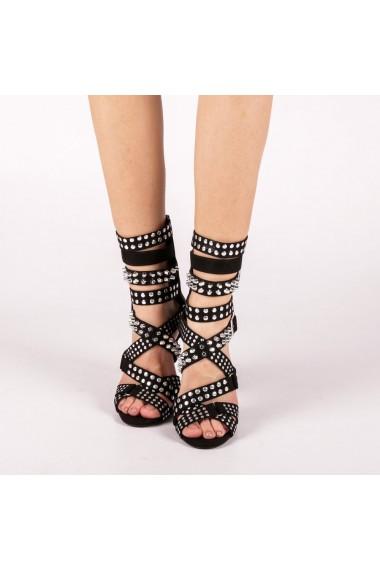 Sandale dama Morana negre