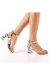 Sandale dama Rosa aurii