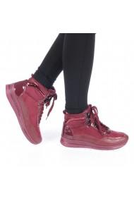 Pantofi sport dama Ederna grena