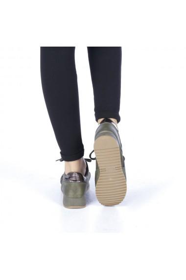 Pantofi sport dama Iuliana verzi