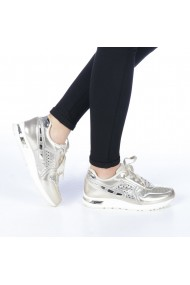 Pantofi sport dama Verena aurii