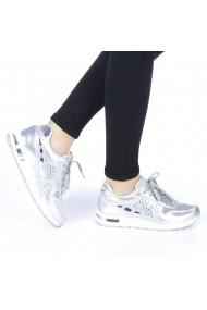Pantofi sport dama Verena argintii