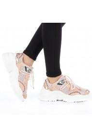 Pantofi sport dama Donatela champagne