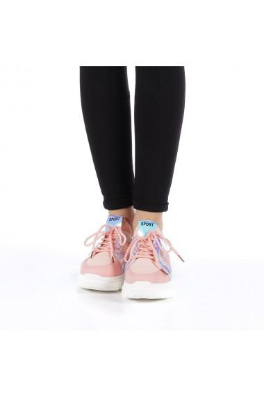 Pantofi sport dama Doina roz