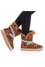 Cizme de dama Ariela leopard