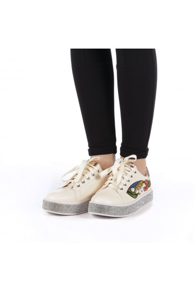 Pantofi sport dama Sonna bej