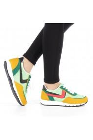 Pantofi sport dama Bony verzi