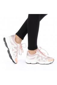 Pantofi sport dama Mibia roz