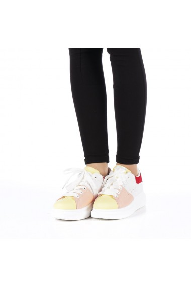 Pantofi sport dama Jaia galbeni