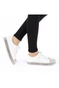 Pantofi sport dama Zilla albi