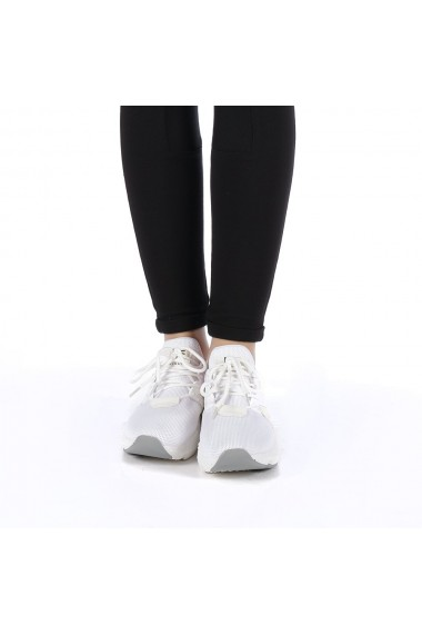 Pantofi sport dama Gabriela albi