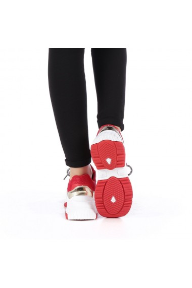 Pantofi sport dama Cleopatra rosii