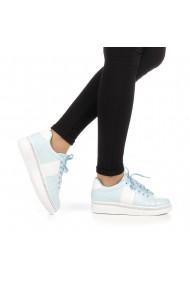 Pantofi sport dama Alliance blue cu alb