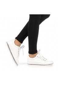 Pantofi sport dama Clear albi