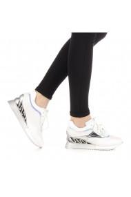 Pantofi sport dama Peachy albi