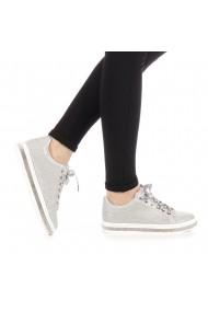 Pantofi sport dama Clear argintii