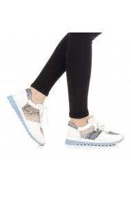 Pantofi sport dama Natanty albi