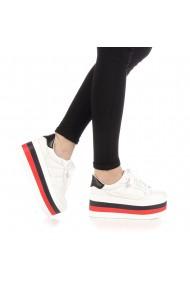 Pantofi sport dama Eiros albi