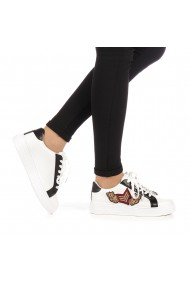 Pantofi sport dama Lierda albi