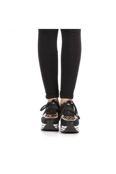 Pantofi sport dama Zahas negri