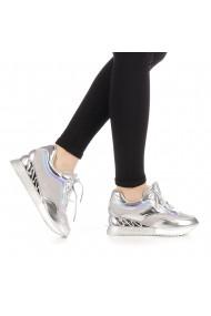 Pantofi sport dama Peachy argintii